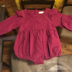 Other - Little girls cotton tops in  rose and wine.